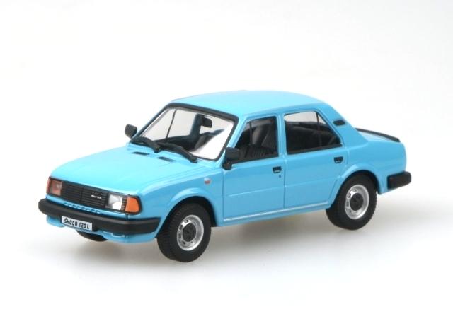 modely autíček - Škoda 120L