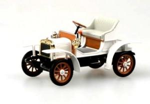 Modely autíček Laurin&Klement Voiturette 1905