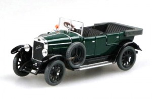 Modely autíček Laurin&Klement